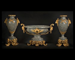 Napoleon III Garniture Set