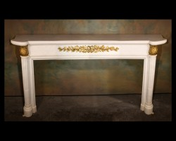 Napoleon III Marble Mantel