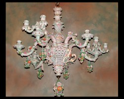 German Dresden Chandelier