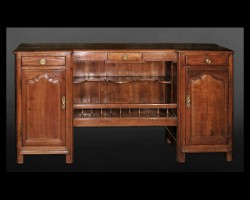 Directoire Walnut Buffet