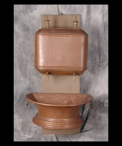 18th Century Copper Lavabo