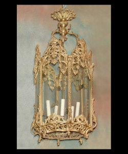19th Century Louis XV Lantern