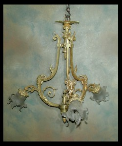 Belle Epoch Bronze Chandelier