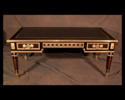 19th Century Louis XVI Bureau Plat