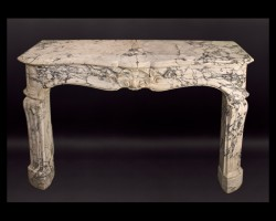 19th Century Napoleon III Mantel