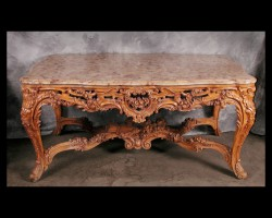Louis XV Fruitwood Center Table