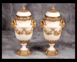 Pair of Louis XVI Casolettes