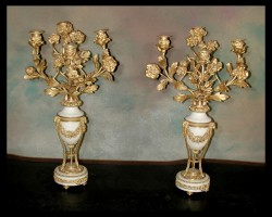 Pair of Louis XVI Candelabras