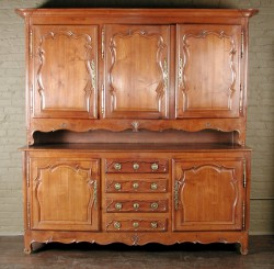 Louis XV Fruitwood Hutch