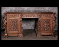 Renaissance Walnut Desk