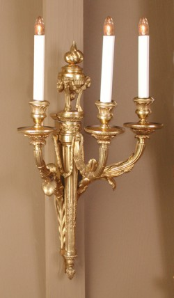 Pair of Louis XVI Sconces