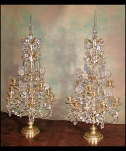 Pair of Louis XVI Girondoles