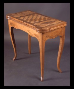 Louis XV Game Table by Hache