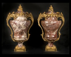 19th century Napoleon III Urns