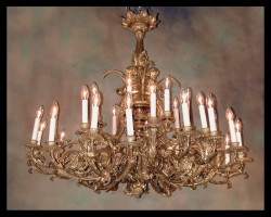 Louis XVI Bronze d'ore Chandelier