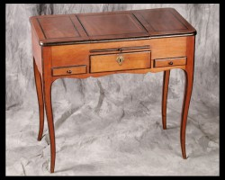 Louis XV walnut poudreuse