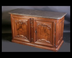 Carved Walnut Buffet De Chasse