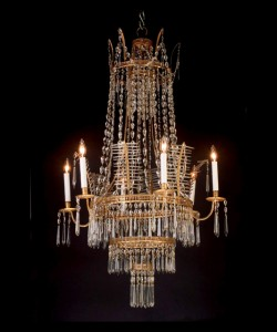 Swedish Directoire Chandelier