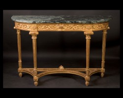 Pair of Louis XVI Consoles