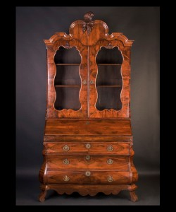18th Century Dutch Walnut Secretary