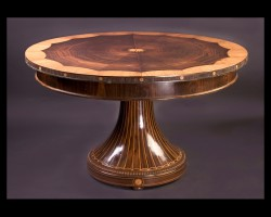 19th Century Biedermeir Pedestal Table