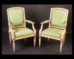 Italian Louis XVI Dining Chairs