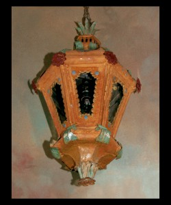 Pair of 19th century Venetian Lanterns