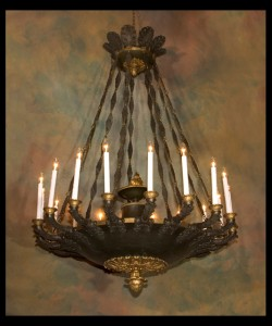 19th century Restauration Chandelier