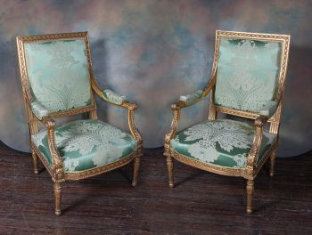 6735~armchairs(pair)