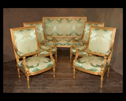 19th century Louis XVI Salon Set