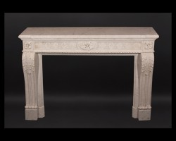 Louis XVI Marble Mantel