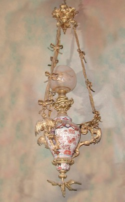 Japanese Imari Chandelier