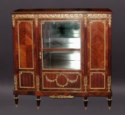 Louis XVI Marquetry Cabinet