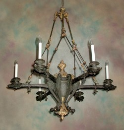 Restauration Chandelier