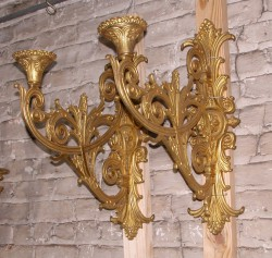 Belle Epoch Bronze Sconces
