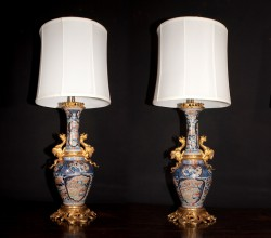 Companie des Indes Lamps (pair)