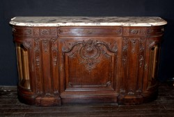 Belle Epoch marble top buffet
