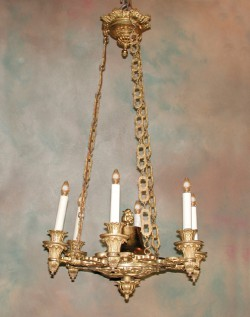 Empire Bronze Chandelier