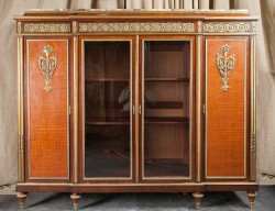 "French 19th Century Louis XVI Large Cabinet, Stamped ""H. Dasson"""