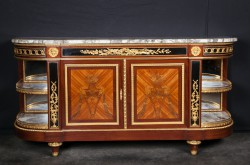 "French 19th Century Louis XVI Buffet signed ""Gouverneur"""