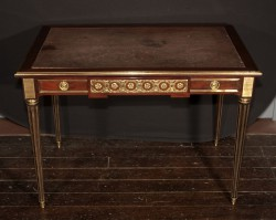 Louis XVI Writing Table Signed P. Sormani