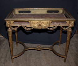 French 19th Century Louis XVI Vitrine Table