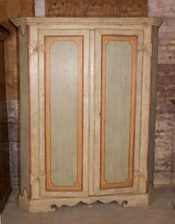 Italian 18th Century Two Door Armoire