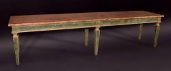 Italian Early 19th Century Painted Table