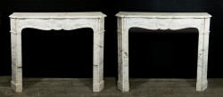 Marble Mantel (Pair)