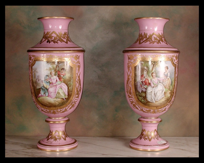 19th Century Sevres Vases French Antique Shop