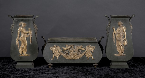 6255~garniture set