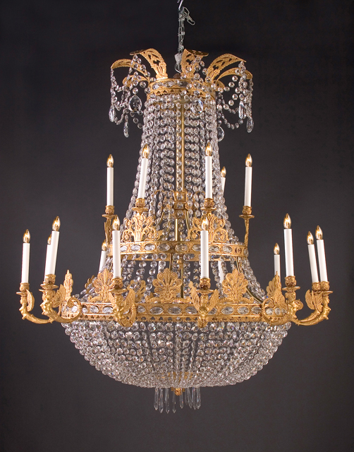 Empire chandelier french antique shop empire chandelier mozeypictures