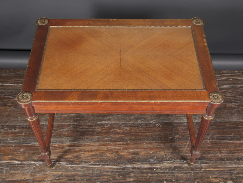 Louis Xvi Table With Four Nesting Tables French Antique Shop