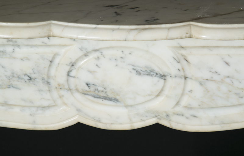 Pair Of 19th Century Marble Mantel French Antique Shop